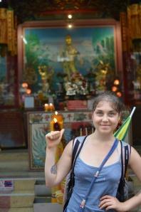 Met Kwan Yin in Bangkok