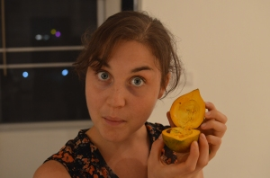 I tried my first Egg fruit and loved it. So creamy and delicious.