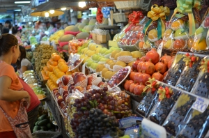 Found the most epic fruit markets of all fruit markets. And that is saying something in Thailand.