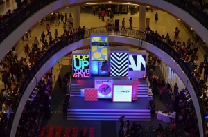 We went to the opening of the super mall. It.was.nuts.
