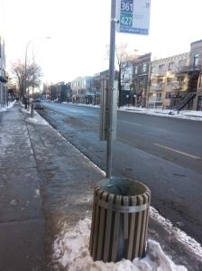 Dead street.