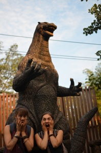 And we dinned at Godzilla's place