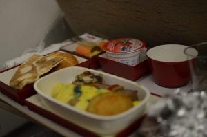 Oh airplane food.