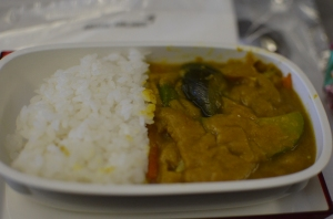 Worst slop ever.  But it was airpot food so what do you expect really.